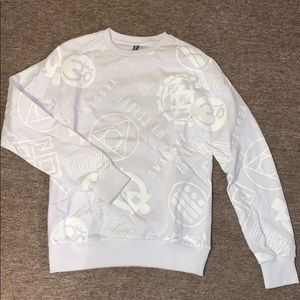 White EXTRA SMALL XS H&M Sweater